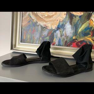 Eileen Fisher black sandals size 7 worn once